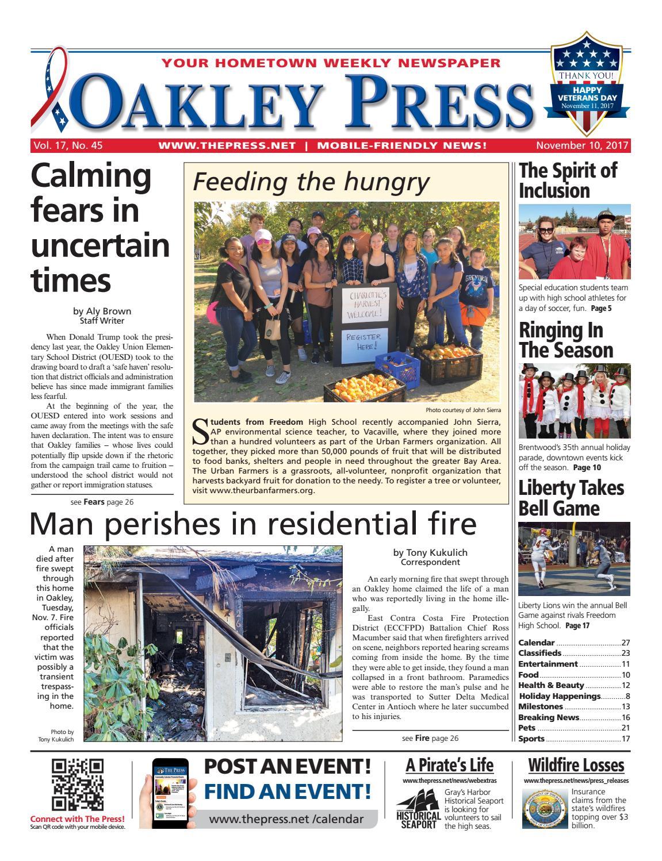 76eb64fed80 Oakley Press 11.10.17 by Brentwood Press   Publishing - issuu