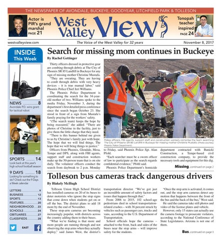 West valley view east november 8 2017 by times media group issuu page 1 fandeluxe Choice Image