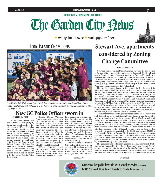 Garden City News 11 10 2017 By Litmor Publishing