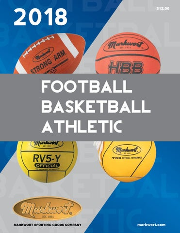 huge discount 41786 7414a Markwort 2018 Football Basketball Athletic Catalog