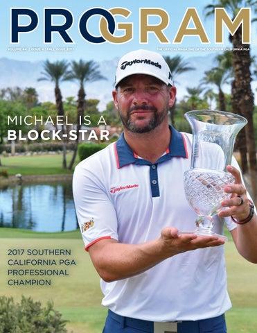 Program Magazine 2017 Fall Edition By Southern California Pga Issuu