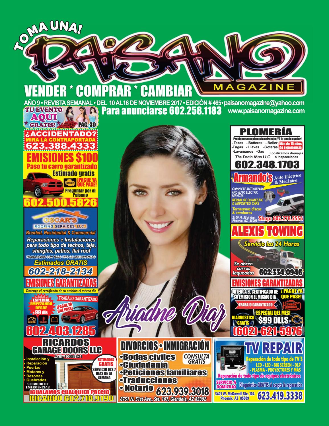 Edit 465 by Paisano Magazine - issuu