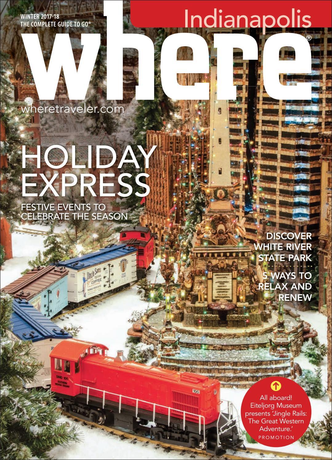 Where Magazine Indianapolis Nov 2017 by Morris Media Network - issuu
