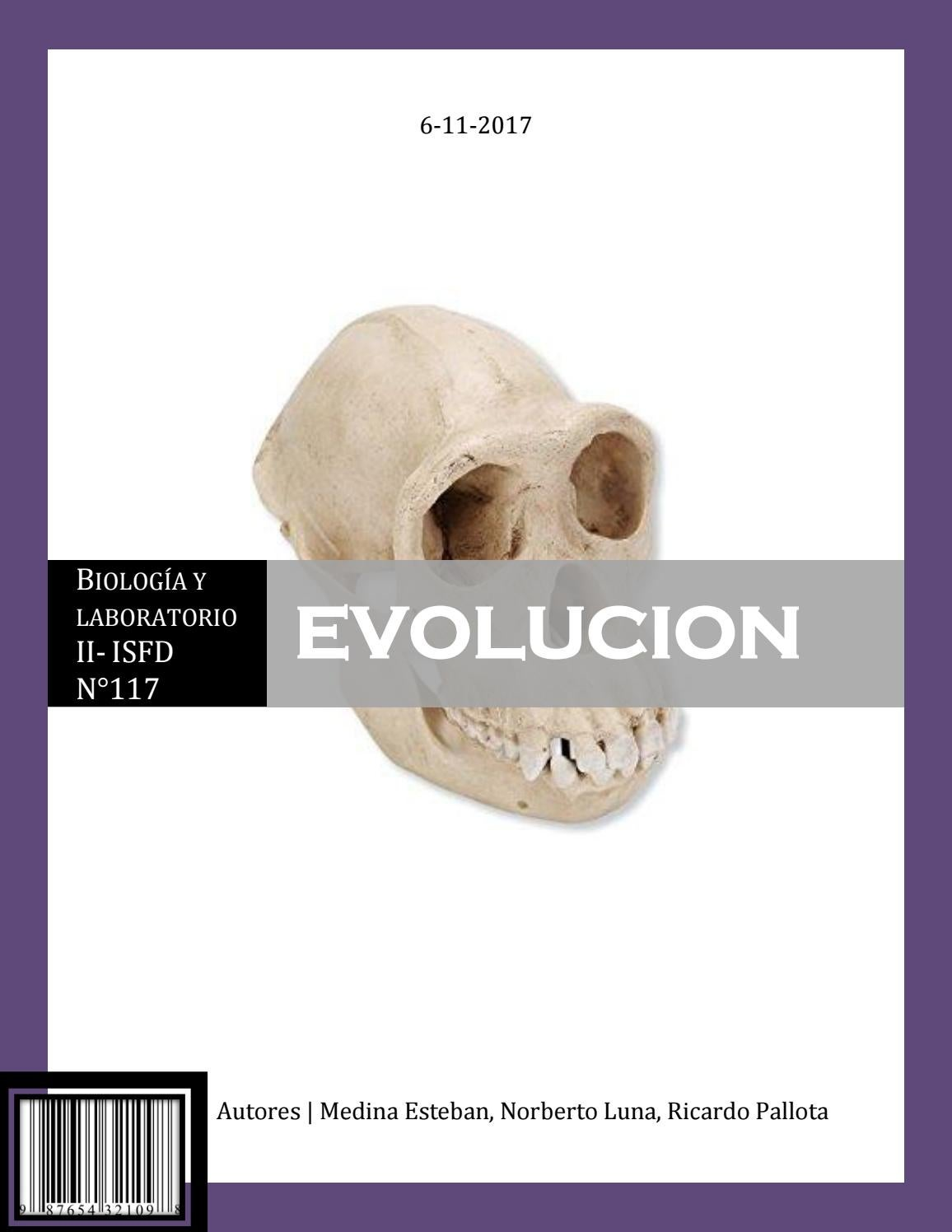 Teoria evolutiva by Maxi Medina - issuu
