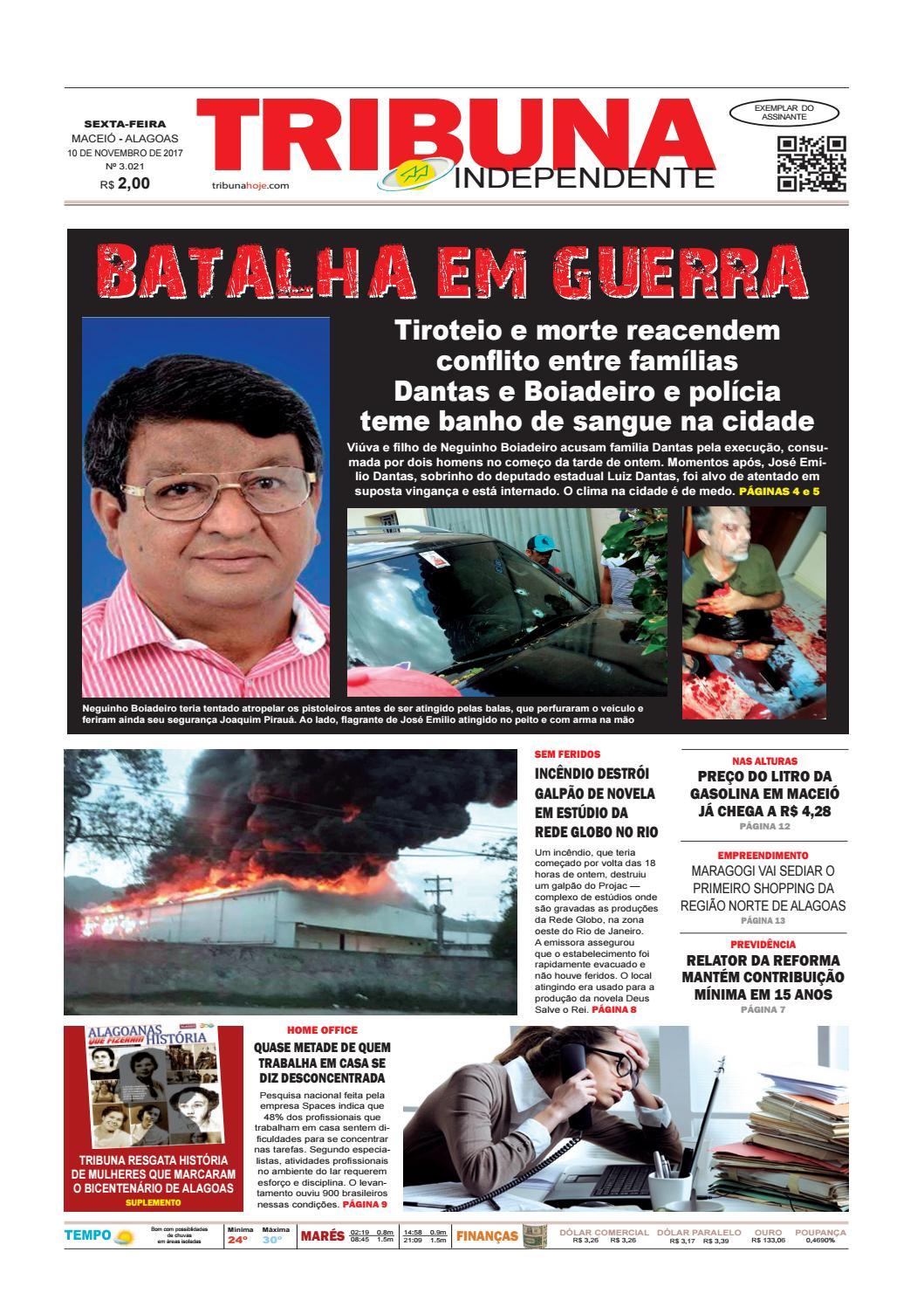 092b5f7cb4cca Edição número 3021 - 10 de novembro de 2017 by Tribuna Hoje - issuu