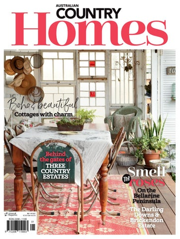 Australian Country Homes Issue1 By Magazine