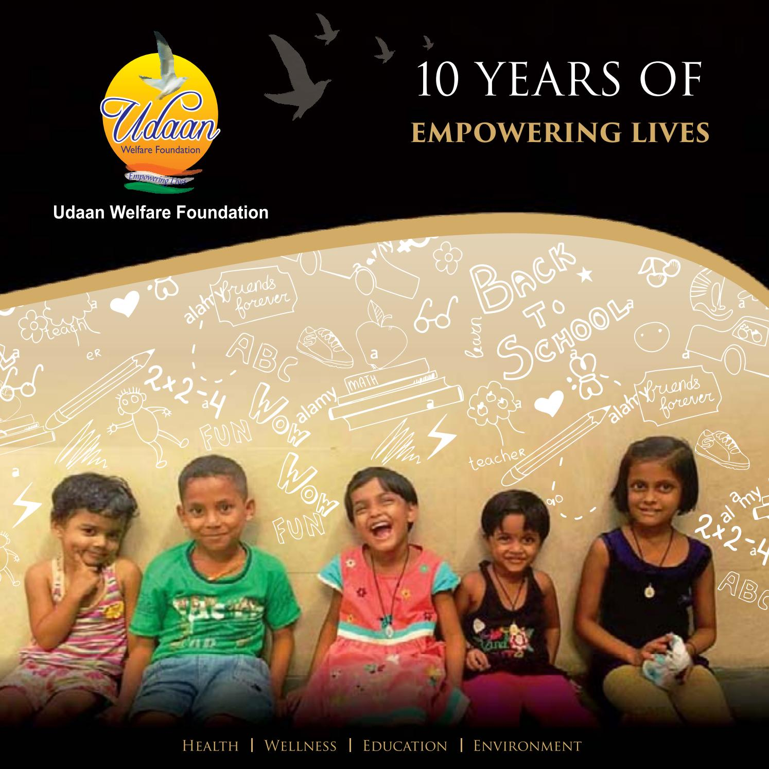 Udaan Welfare Foundation Souviner 2017-18 by Udaanwelfare Foundation