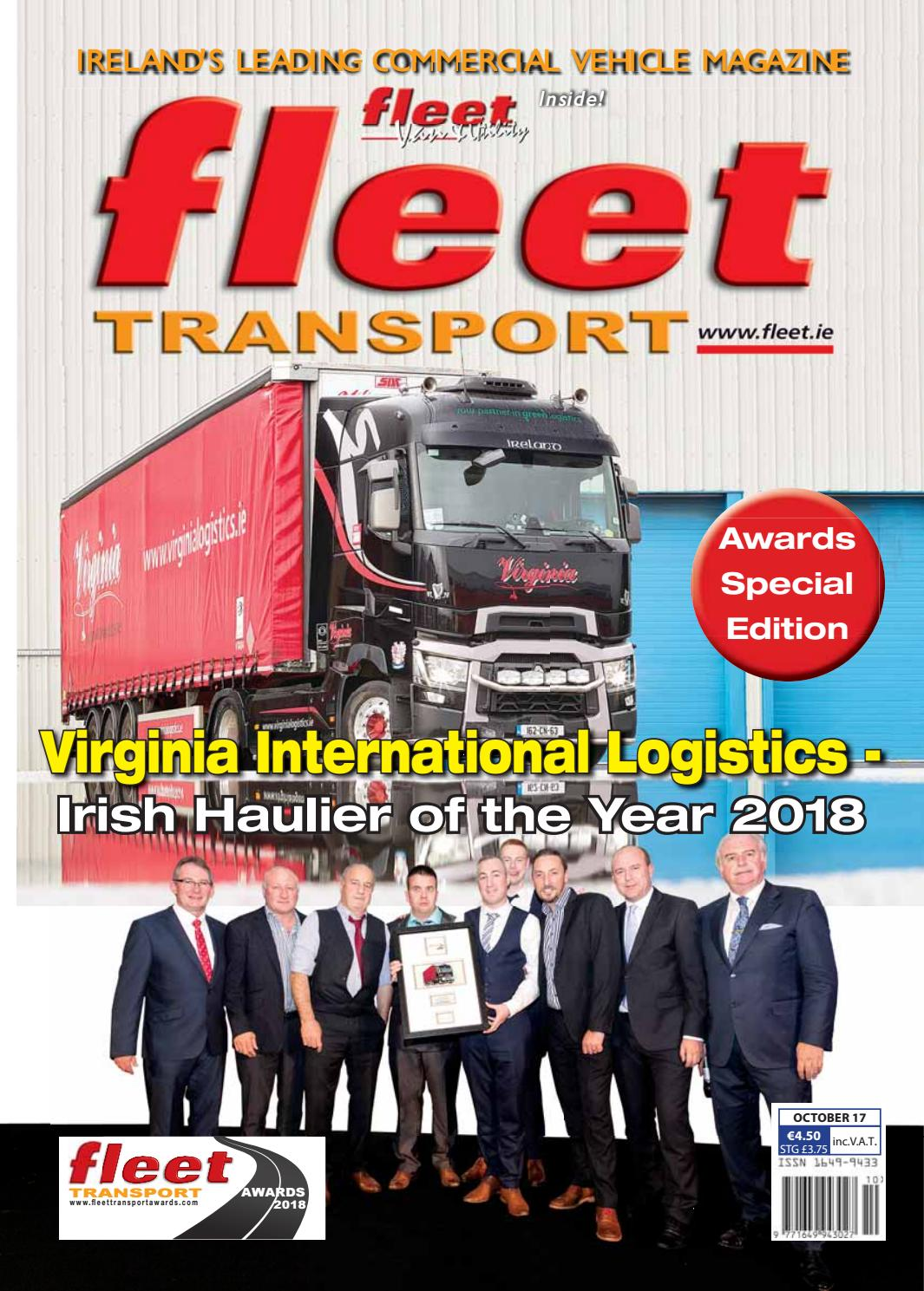 Fleet Transport Oct17 Webfull By Issuu Esp Ltd M50 Wiring Diagram