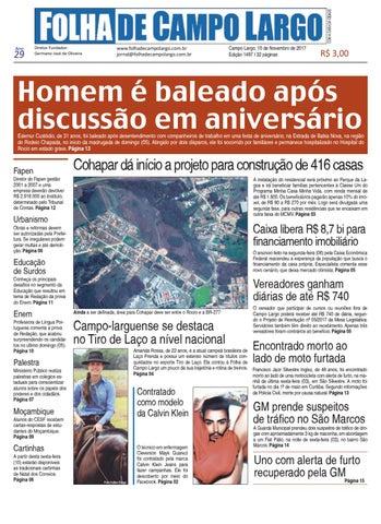 2fc168c5e8 Folha de Campo Largo by Folha de Campo Largo - issuu