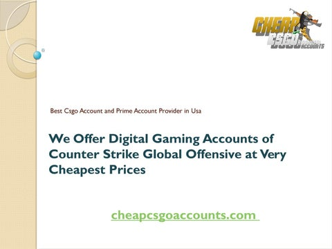 Counter-strike global offensive - prime account matchmaking