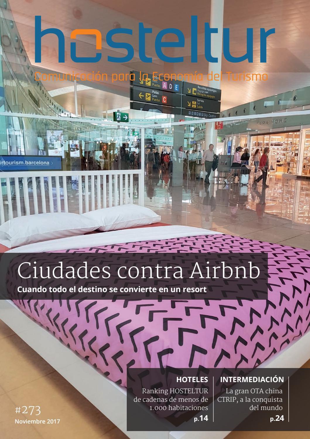 Hosteltur 273 - Ciudades contra Airbnb by hosteltur 2017 - issuu 2ac6b81809f
