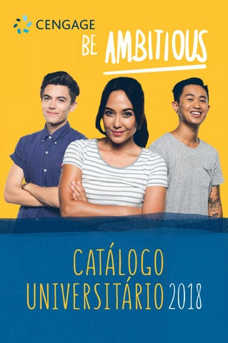 c76b93cb9582c Catalogo Universitário 2018 by Cengage Brasil - issuu