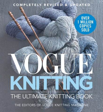 Vogue Knitting The Ultimate Knitting Book Completely Revised And
