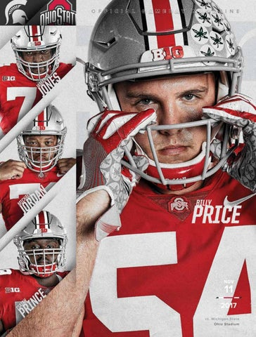 Ohio State vs. Michigan State Gameday Magazine by OhioStAthletics ... 9b3c38331