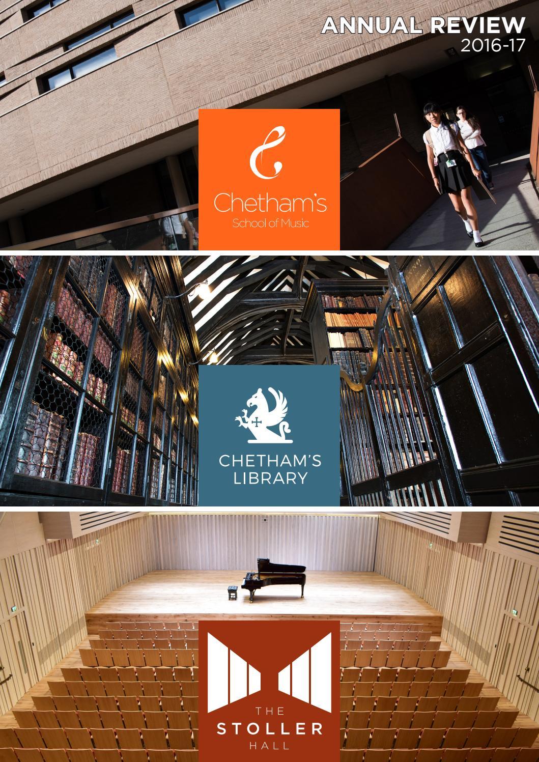 Chetham's School of Music, Chetham's Library & The Stoller