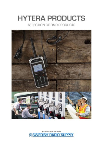 Hytera DMR products 2017 (eng)