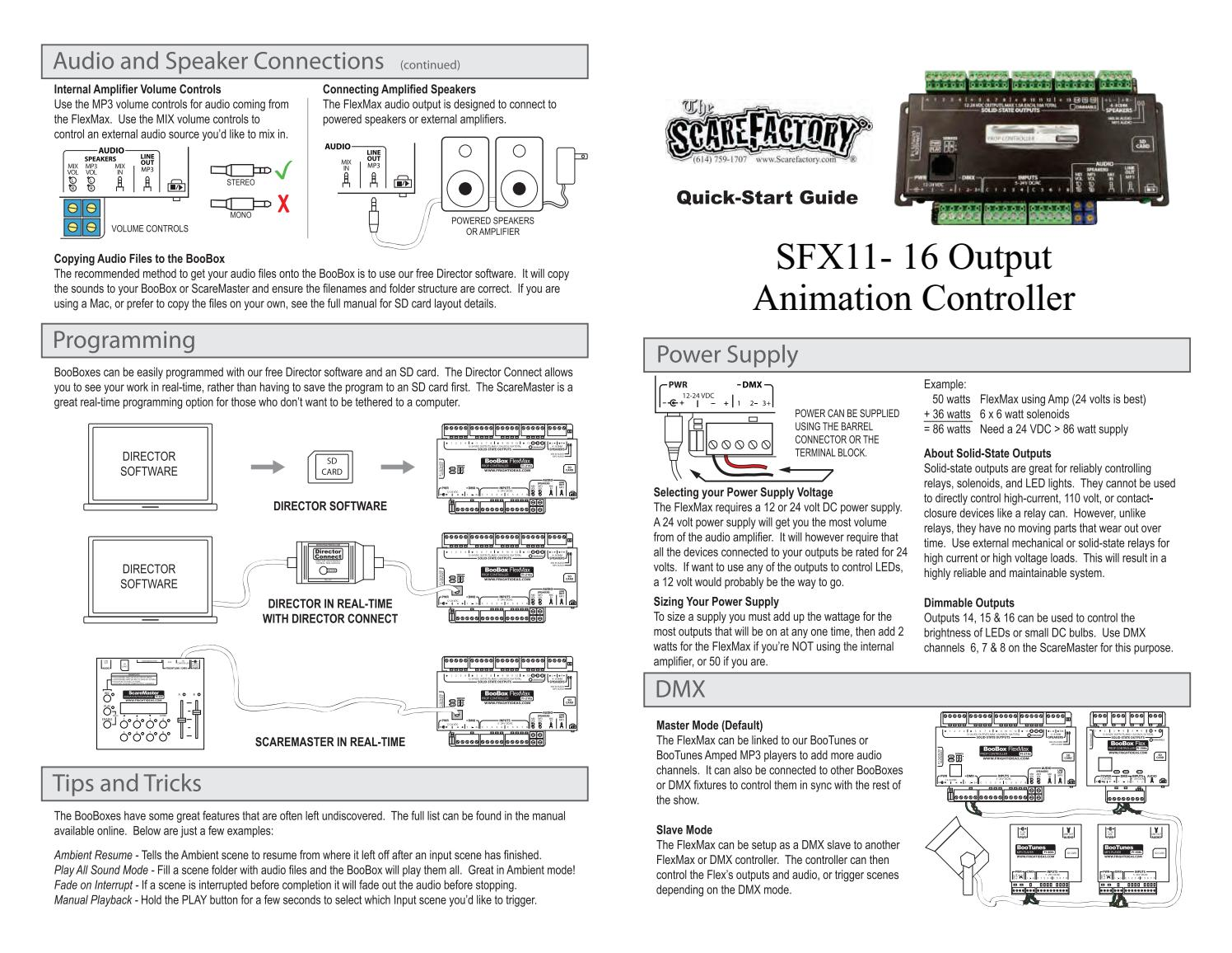 SFX11 16 Output Animation Controller by ScareFactory - issuu