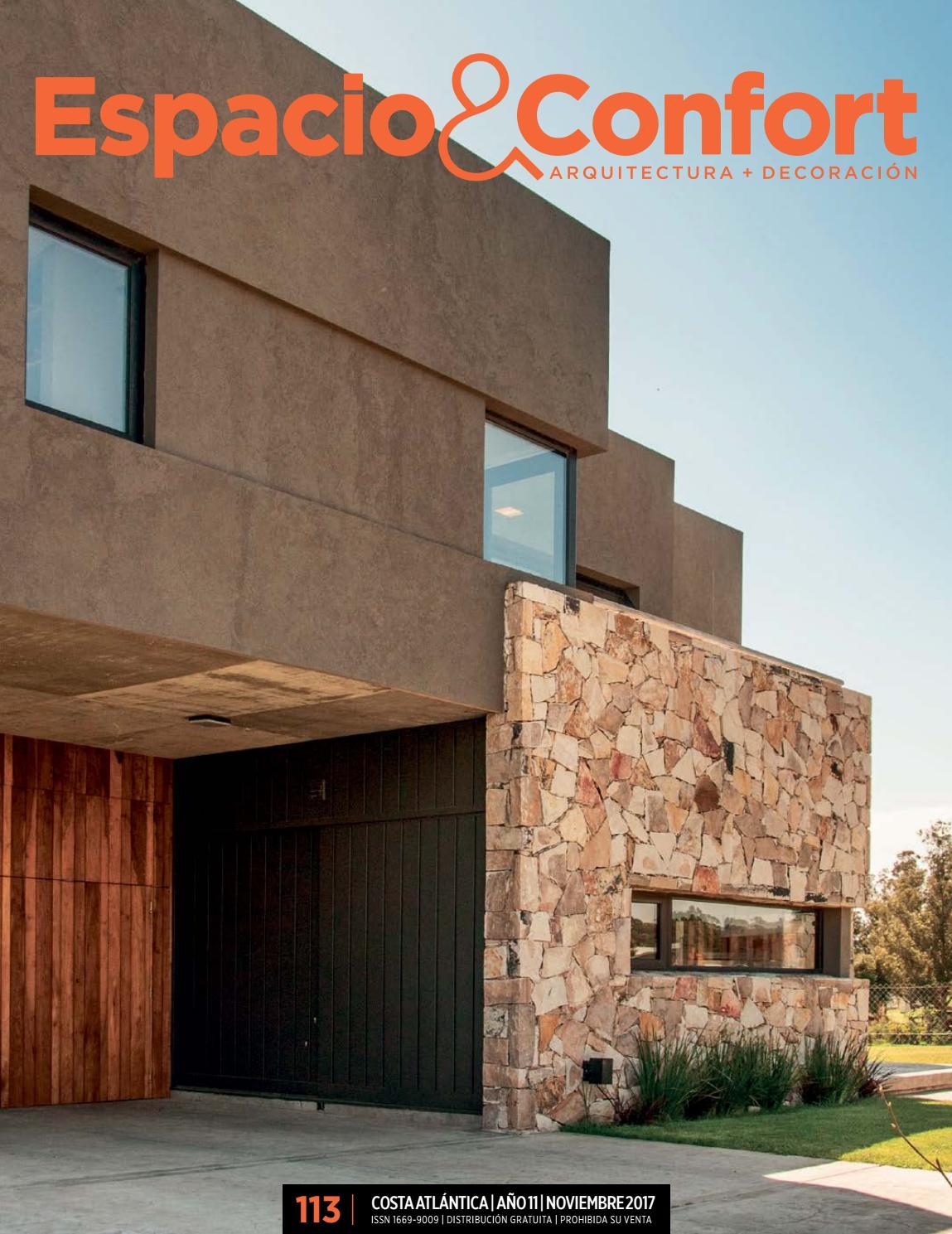 113 Costa Noviembre 2017 By Revista Espacio Confort Arquitectura  # Muebles Luberto Mar Del Plata