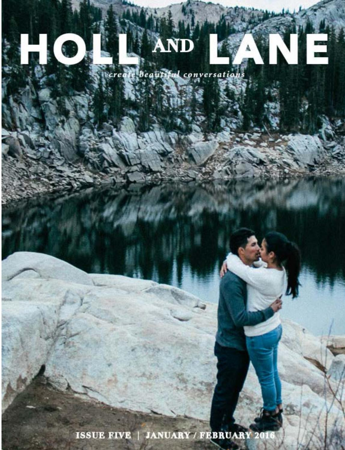 Holl & Lane, Issue 5 Preview by Holl and Lane - issuu