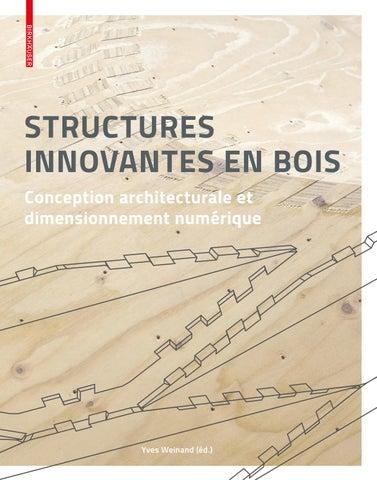 Structures Innovantes En Bois Conception Architecturale Et