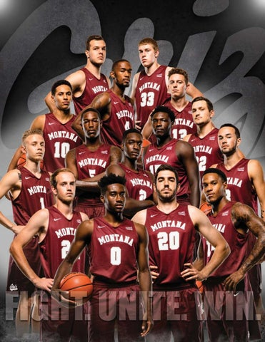 bae38e24d5f 2017-18 Montana Grizzlies Men's Basketball Yearbook by University of ...