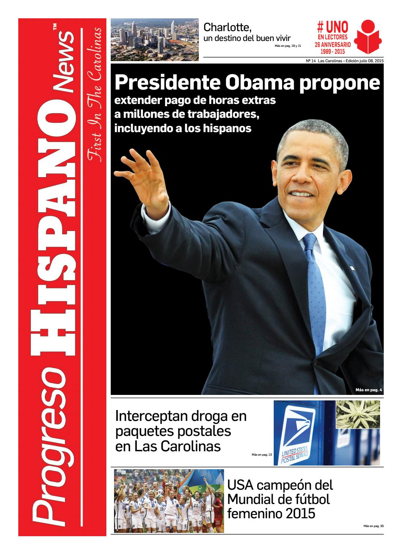 Progreso Hispano News Charlotte NC Ed#14 07082015 by Progreso ...