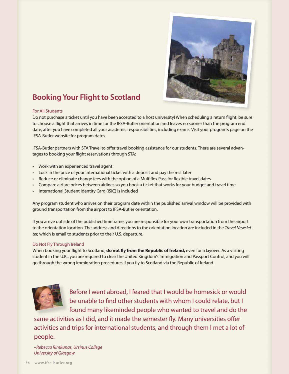 Preparing to Study Abroad Scotland by IFSA-Butler - issuu