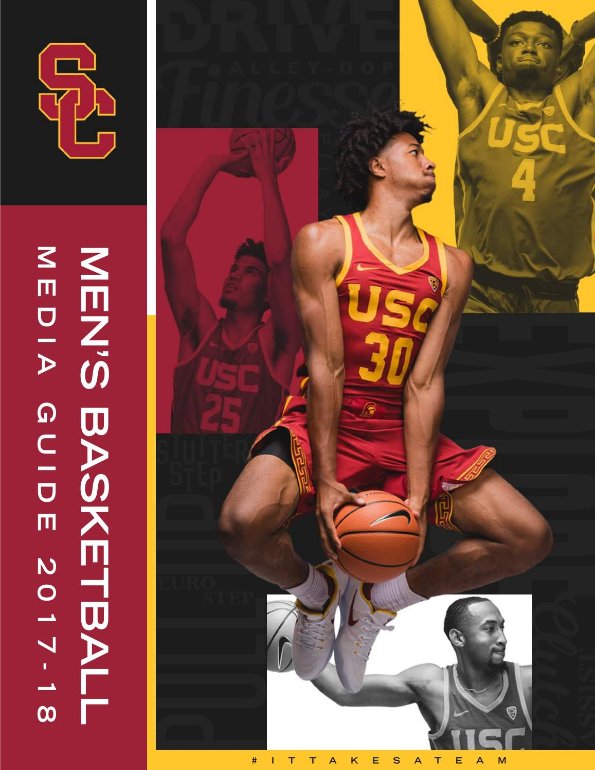b5d0b22a4b8 2017-18 USC Men s Basketball Media Guide by USC Athletics - issuu