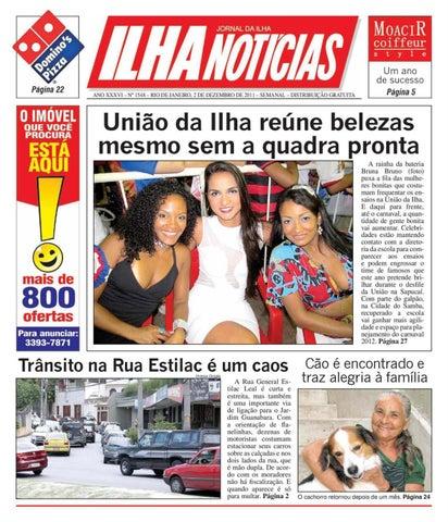 Jornal Ilha Notícias Nº 1.548 by Portal Academia do Samba - issuu 524cedf188