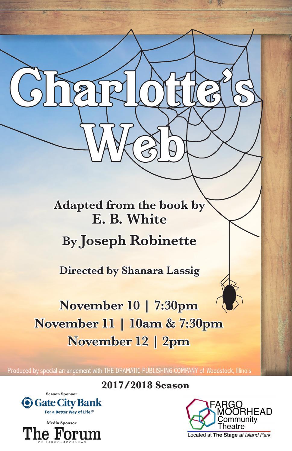 Charlotte\'s Web by Fargo Moorhead Community Theatre - issuu