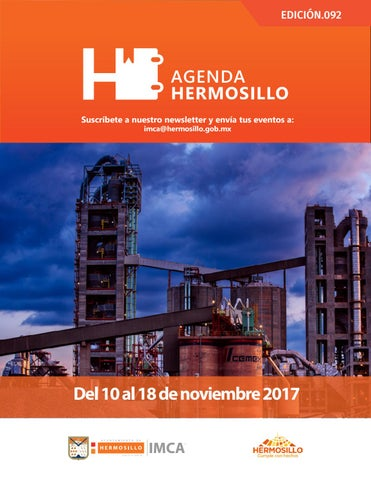 "Cover of ""Agenda hermosillo 10nov2017"""