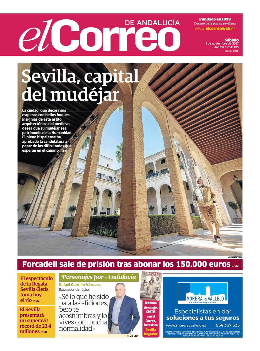 11 11 2017 El Correo De Andaluc A By El Correo De Andaluc A S L  # Muebles Sastre Viso Alcor