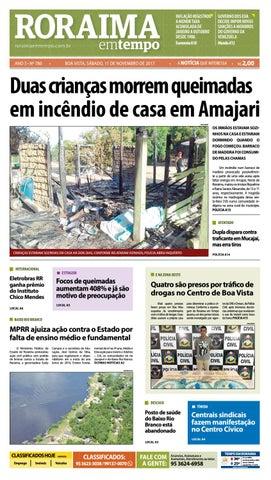 31d8681ea6 Jornal roraima em tempo – edição 780 by RoraimaEmTempo - issuu