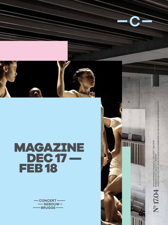 39fb06cf0e52bb Concertgebouwmagazine dec 2017 - feb 2018 by Concertgebouw Brugge - issuu