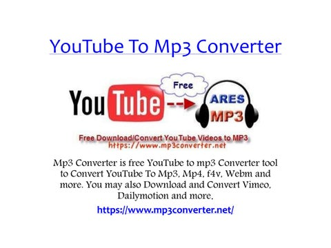 Mp3 Converter - Youtube to Mp3 Converter | Youtube to Mp3 by