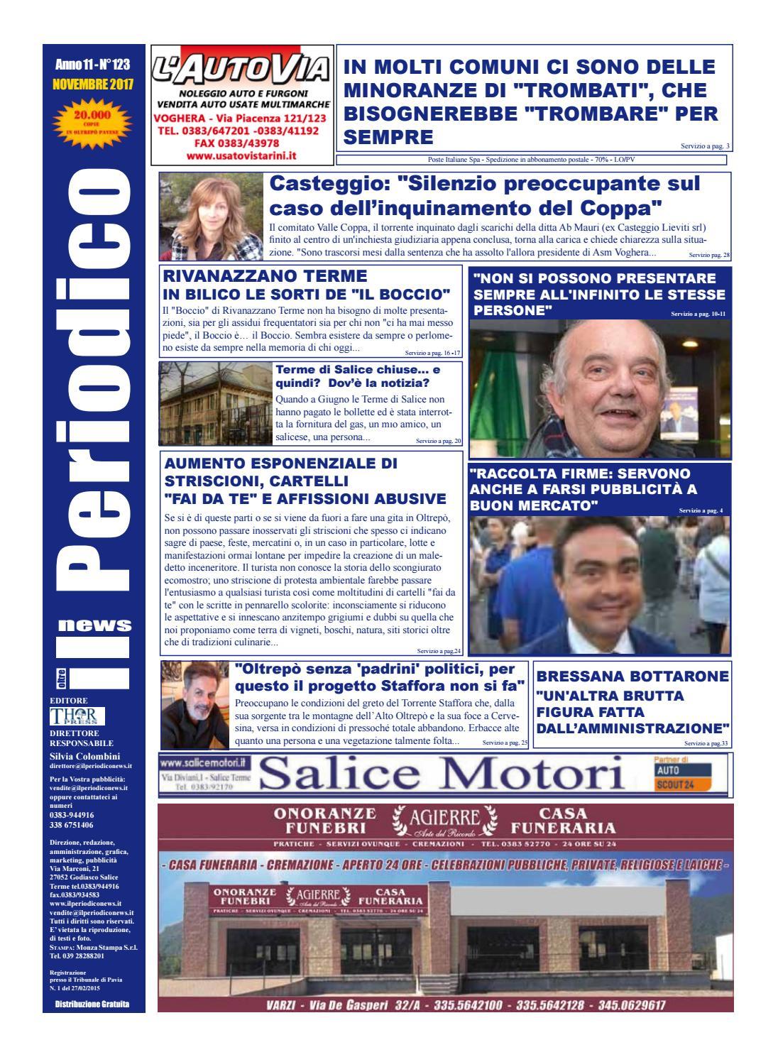 Il Periodico News - NOVEMBRE 2017 N°123 by IlPeriodicoNews - issuu 1c6aecf6917