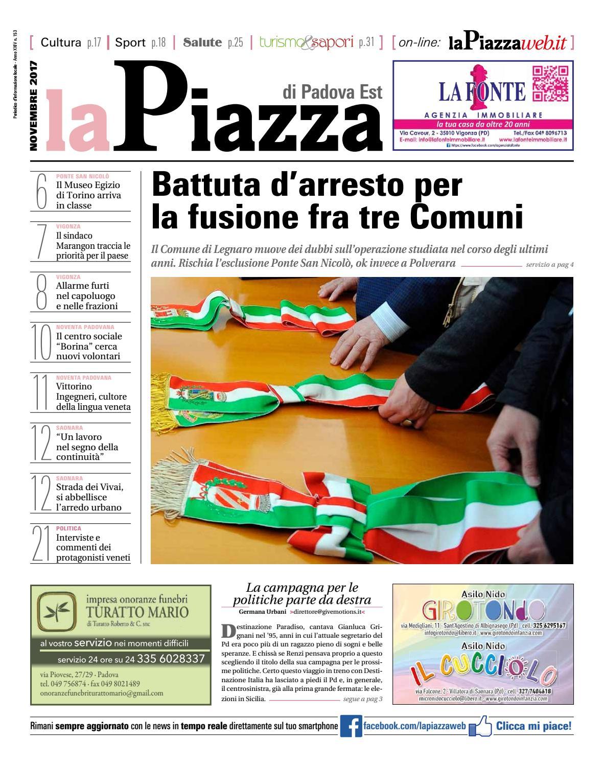 Padova Est Nov2017 N153 By Lapiazza Give Emotions Issuu