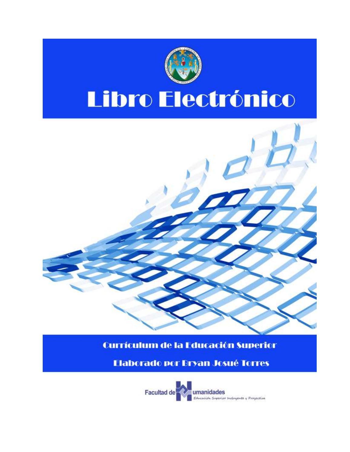 Libro electrónico by bjtorresh - issuu