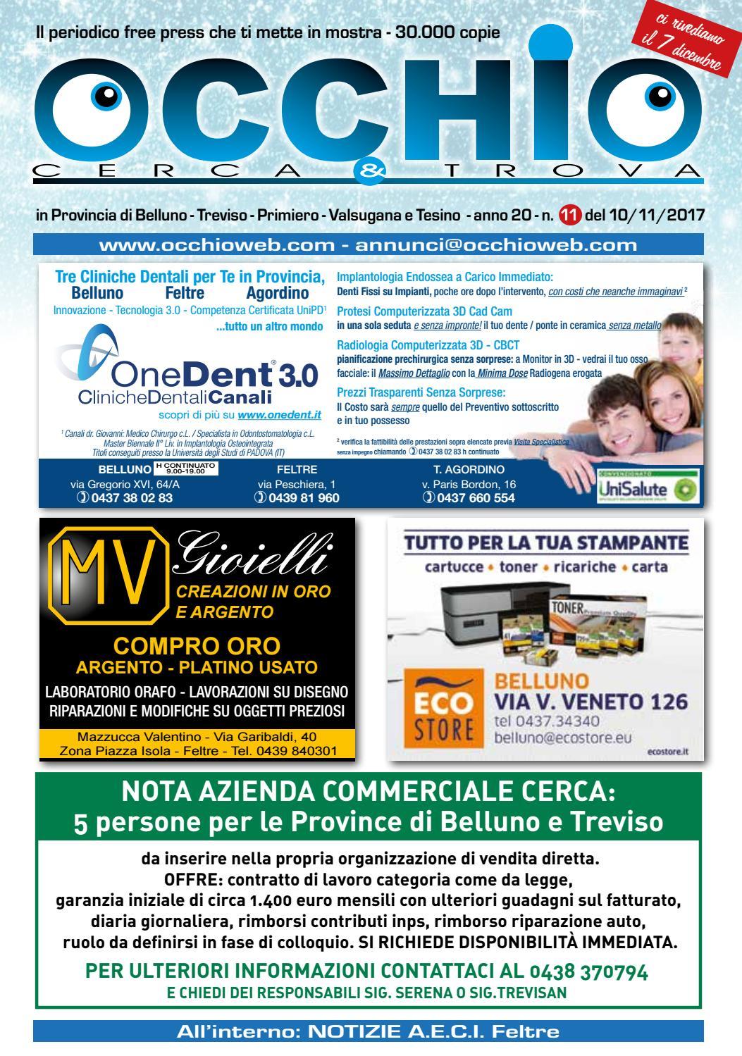 timeless design 427bb 9aaf5 Occhio Web Cerca & Trova n°11 - Novembre 2017 by Occhio Web ...