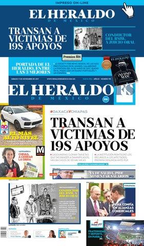 El Heraldo De Mexico 11 De Noviembre De 2017 By El Heraldo De Mexico