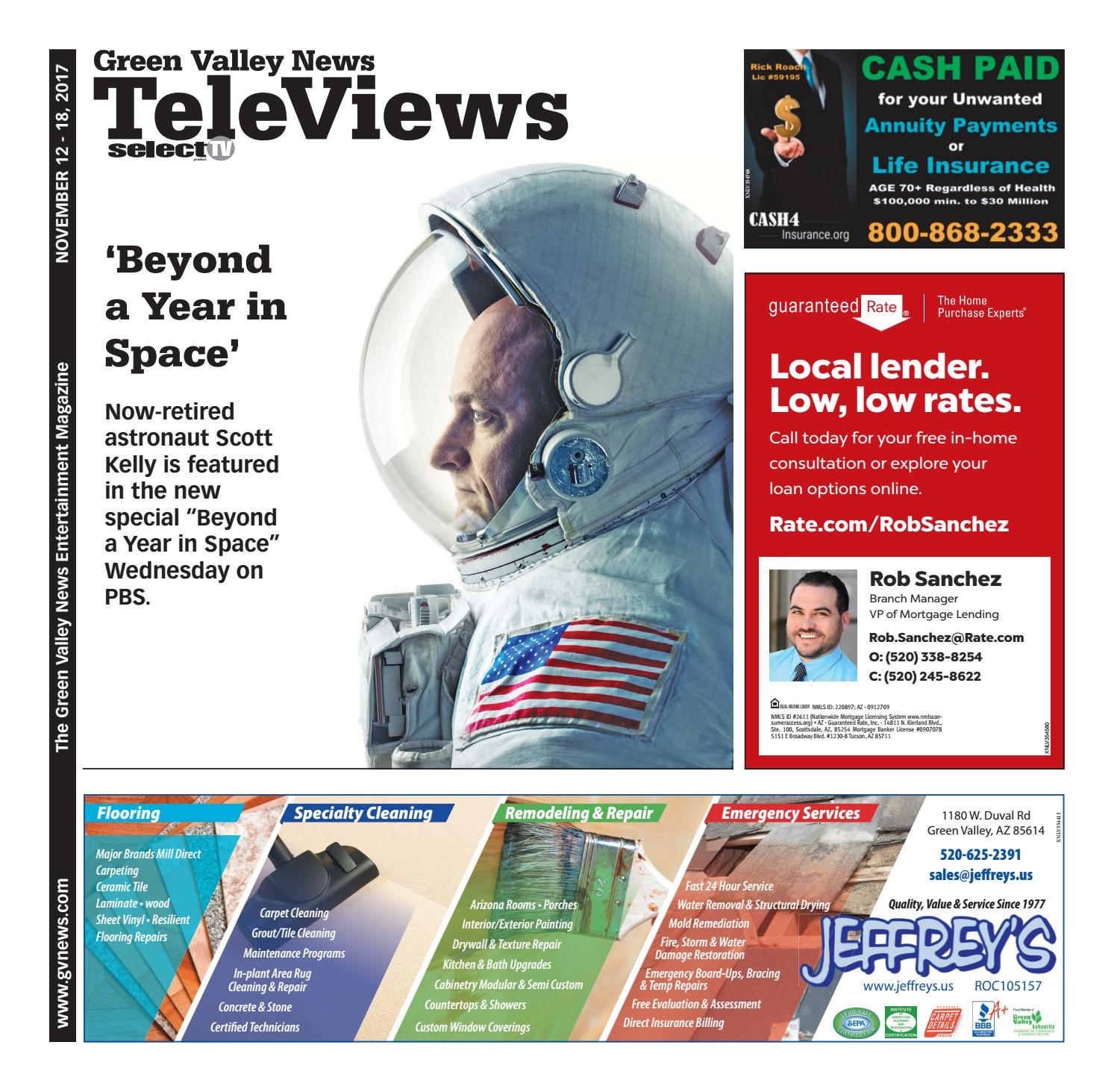 Televiews: Sunday, November 12, 2017 by Wick Communications - issuu