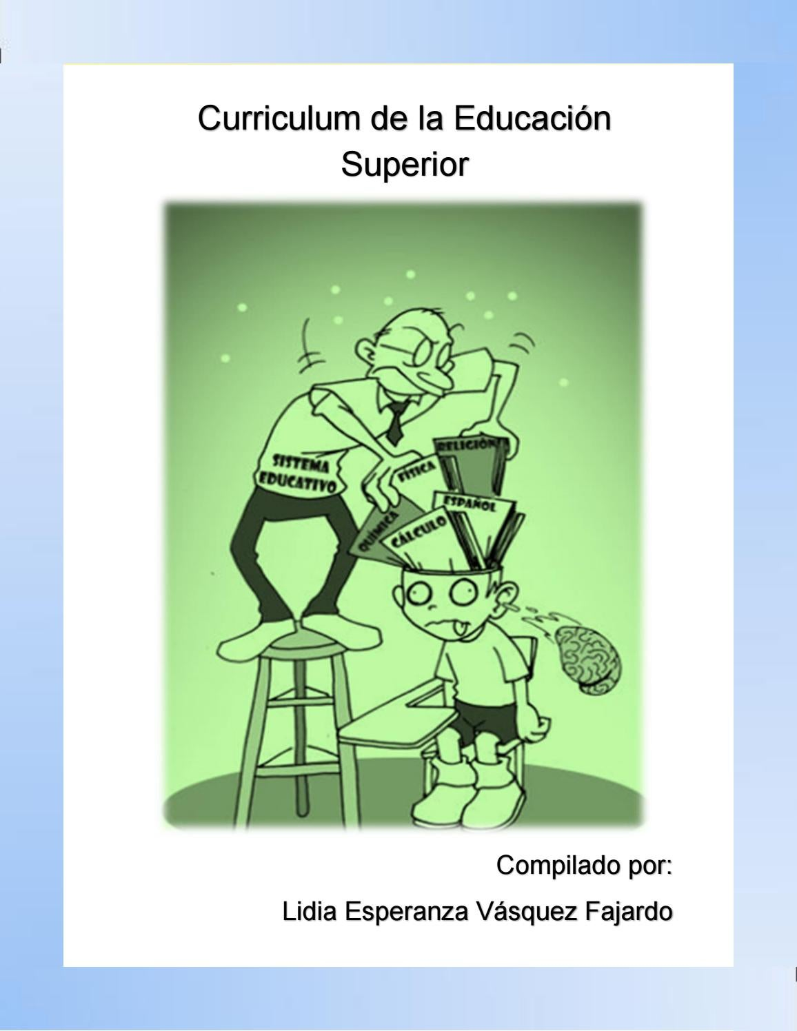 Libro electrónico curriculum de la Educación superior by livasquez7 ...