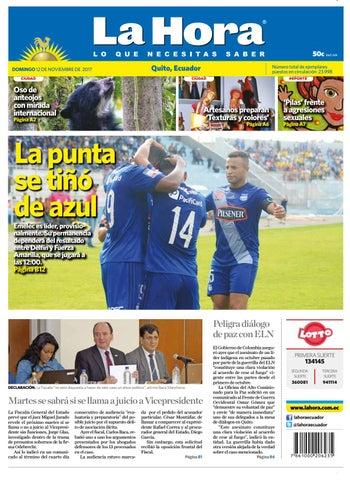 341aa455c1f14 Quito 12 de noviembre de 2017 by Diario La Hora Ecuador - issuu
