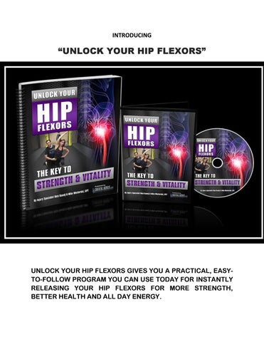 How To Unlock Your Hip Flexors
