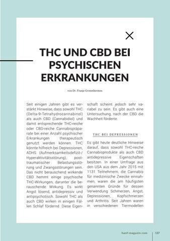 Page 137 of THC und CBD bei psychischen Erkrankungen