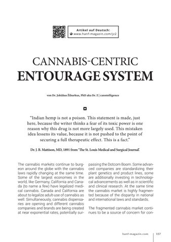 Page 157 of Cannabis-Centric Entourage System