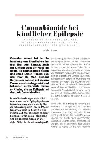 Page 74 of Cannabinoide bei kindlicher Epilepsie