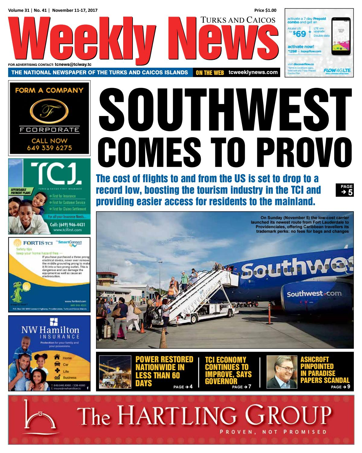 TCWN November 11 - 17, 2017 by TC Weekly News - issuu
