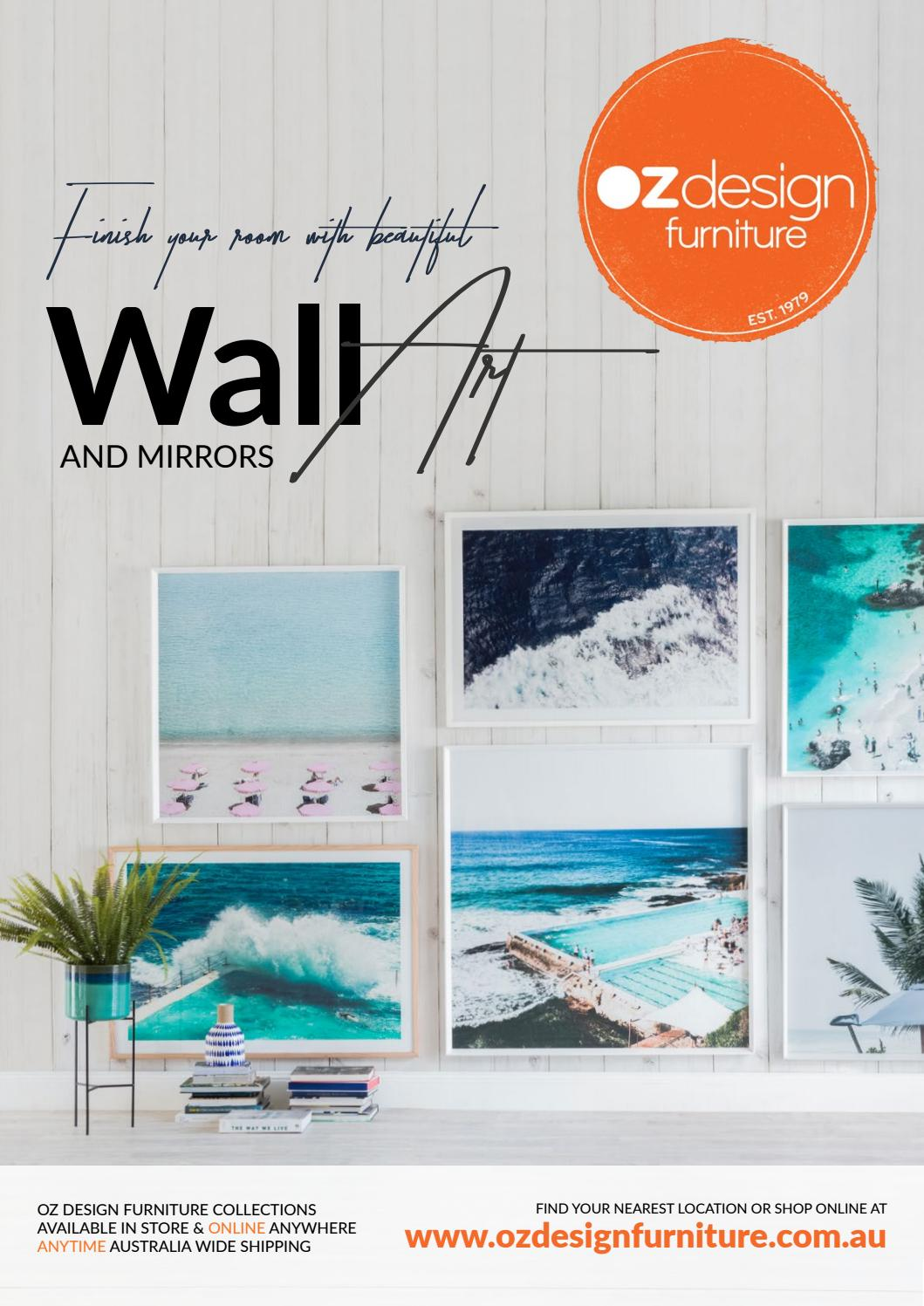 Wall Art and Mirrors E catalogue   OZ Design Furniture by Oz Design  Furniture   issuu. Wall Art and Mirrors E catalogue   OZ Design Furniture by Oz