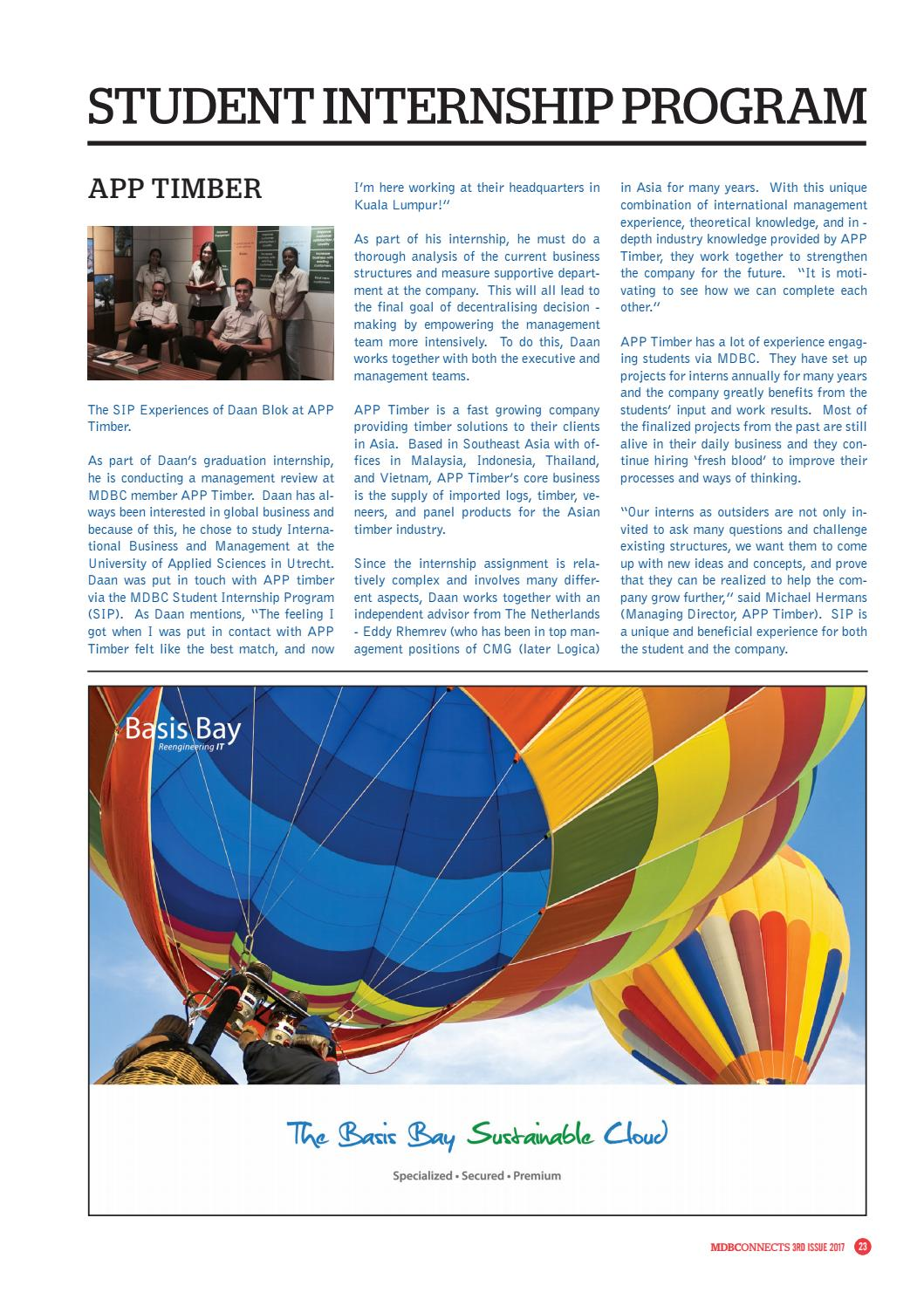 MDBCONNECTS 2017 - 3 by Malaysian Dutch Business Council - issuu